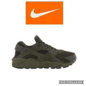 Nike Air Men's Hurache Run Army Green